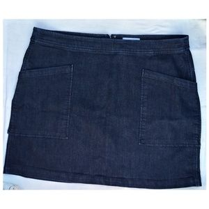 Loft | Women Jean Mini Skirt Sz 18